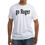 go Roger Fitted T-Shirt