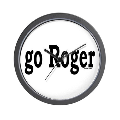 go Roger Wall Clock