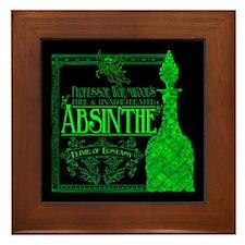 Prof. Wormwood Absinthe Framed Tile