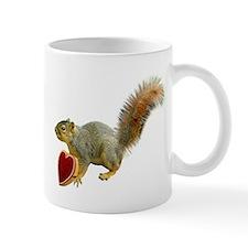 Squirrel with Candy Box Mug