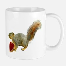 Squirrel with Candy Box Mug