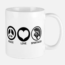 Peace Love Spartacus Mug