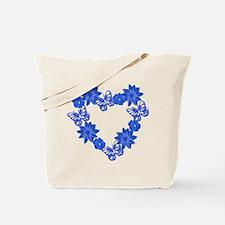 Heart Wreath Tote Bag