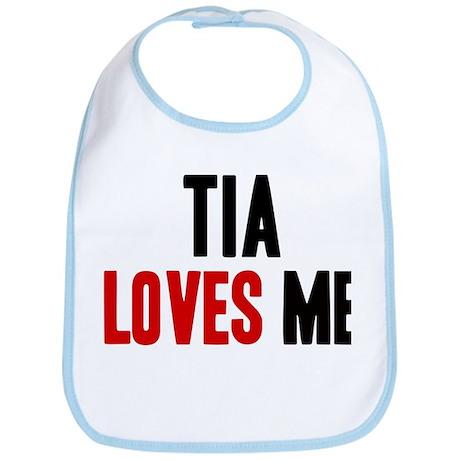 Tia loves me Bib