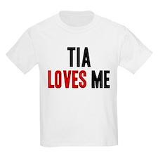Tia loves me T-Shirt
