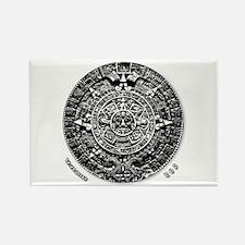 12-21-2012 Mayan Calendar Rectangle Magnet