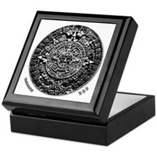 12-21-2012 Mayan Calendar Keepsake Box