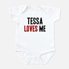 Tessa loves me Infant Bodysuit