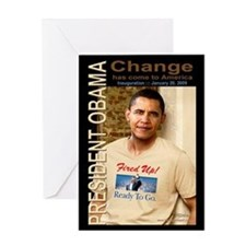 Change - Fired Up! Greeting Card