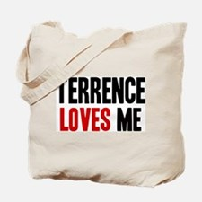 Terrence loves me Tote Bag