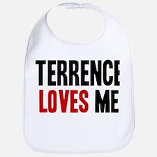 Terrence loves me Bib