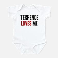 Terrence loves me Infant Bodysuit