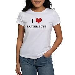 I Love Skater Boys Tee