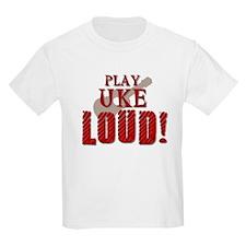 Play UKE LOUD! Kids T-Shirt