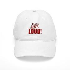 Play UKE LOUD! Baseball Cap