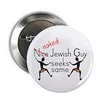 Naked Jewish Guy Seeks Same Button