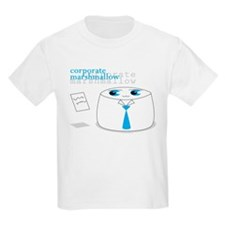 Cute Corporate Anime Marshmal Kids T-Shirt