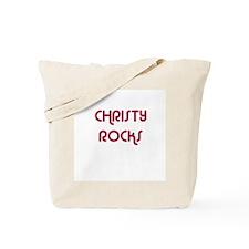 CHRISTY ROCKS Tote Bag