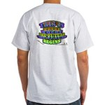 Enjoey Designs - Ash Grey T-Shirt