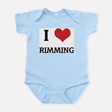 I Love Rimming Infant Creeper