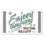 Enjoey Designs - Rectangle Sticker