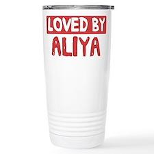 Loved by Aliya Travel Coffee Mug