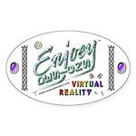 Enjoey Designs - Oval Sticker
