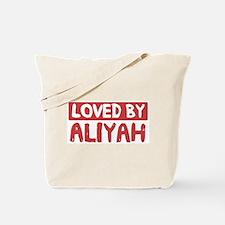 Loved by Aliyah Tote Bag