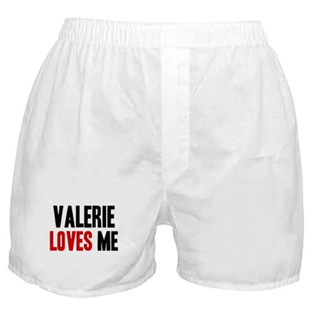 Valerie loves me Boxer Shorts