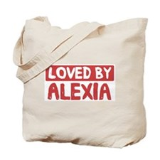 Loved by Alexia Tote Bag