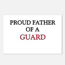 Proud Father Of A GUARD Postcards (Package of 8)