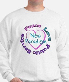 Peace Love Service Sweatshirt