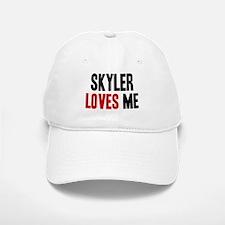 Skyler loves me Baseball Baseball Cap