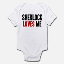 Sherlock loves me Infant Bodysuit