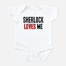 Sherlock loves me Onesie