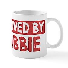Loved by Abbie Small Mug
