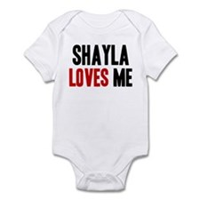 Shayla loves me Infant Bodysuit