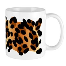 Leopard Print Motif Mug