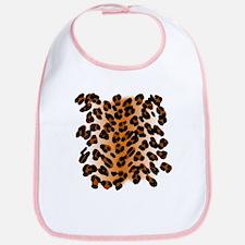 Leopard Print Motif Bib