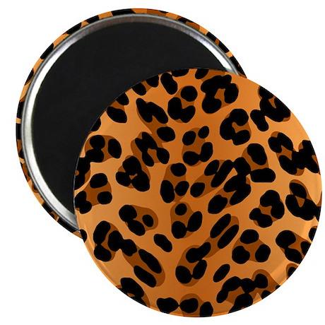 Leopard Print Motif Magnet