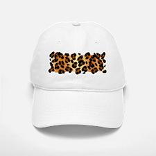 Leopard Print Motif Baseball Baseball Cap