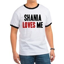 Shania loves me T