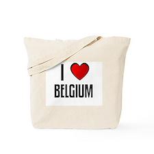 I LOVE BELGIUM Tote Bag