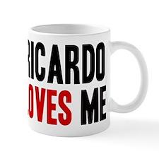 Ricardo loves me Mug