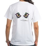 Enjoey Eyes - White T-Shirt