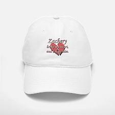 Zachery broke my heart and I hate him Baseball Baseball Cap