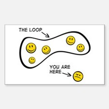 The Loop: Rectangle Decal