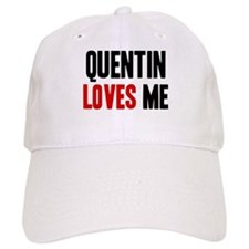Quentin loves me Baseball Cap