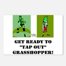 """GET READY TO """"TAP OUT"""" GRASSH Postcards (Package o"""
