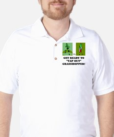 """GET READY TO """"TAP OUT"""" GRASSH T-Shirt"""